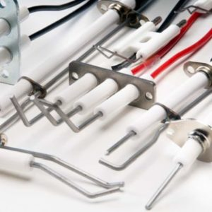 Ignition components, ignition electrodes, ionisation electrodes and monitoring electrodes from Rauschert